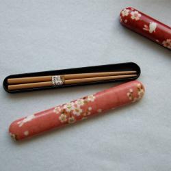 桜吹雪とうさぎ 箸